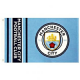 Manchester City Official Crest Football Flag 1520mm x 910mm (bst)